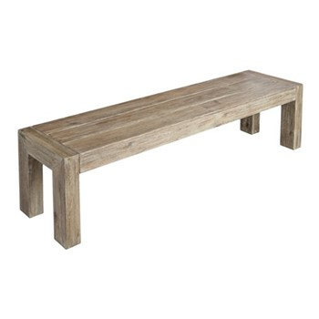 Old England Distressed bench, 180 x 40cm, acacia