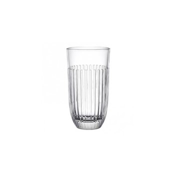 Ouessant Set of 6 long drink glasses, 45cl - H14.8cm, clear