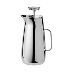 Foster by Norman Foster French press, H24cm - 1 litre, stainless steel