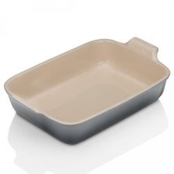 Stoneware Rectangular dish, 19 x 13.8 x 5.5cm - 1.1 litre, Flint