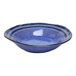 Sausalito Set of 4 soup/pasta plates, 22cm, blue