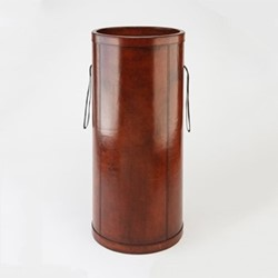 Umbrella holder, H62 x D28cm, conker brown