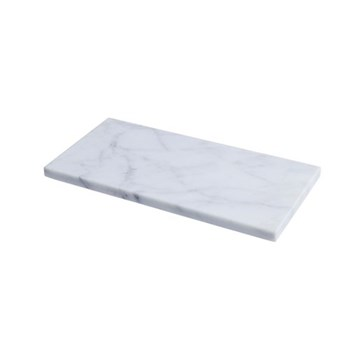 Chop Chop Medium marble chopping board, H1.5 x L35 X W18cm, marble