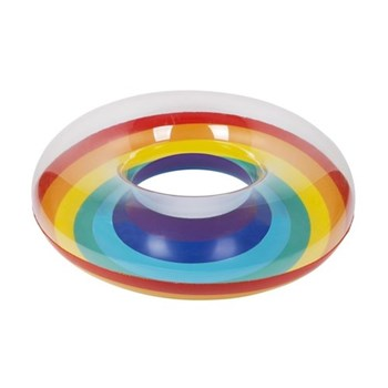 Pool ring rainbow, 112 x 112 x 35cm