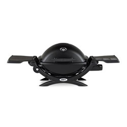 Weber Q - 1200 Gas grill, H62.5 x W104 x D52cm, black