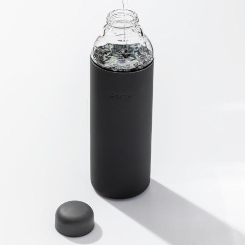 Porter Water bottle, 570ml, Charcoal