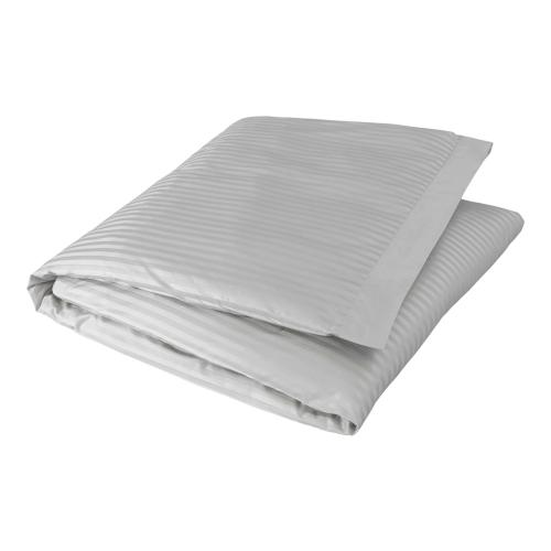 Millennia 1200TC King size duvet cover, 230 x 220cm, Silver