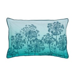 Dill Oxford pillowcase, L48 x W74cm, aqua