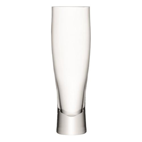 Bar Set of 4 lager glasses, 400ml, clear