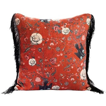 Black Bird Square cushion, L50 x W50cm, multi