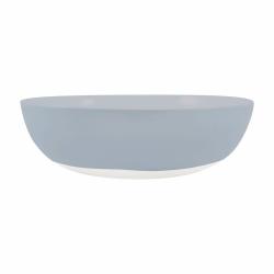 Shell Bisque Round serving bowl, 25.4 x 7.6cm, Blue