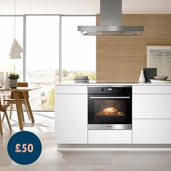 Ovens, Steam Ovens & Combination Ovens​ Home Appliance Gift Voucher