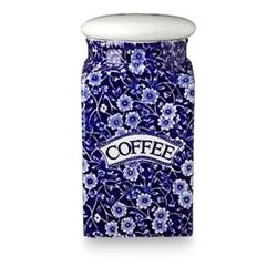 Calico Storage jar - Coffee, blue