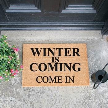 Winter Is Coming Doormat , L60 x W40 x H1.5cm