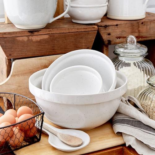Fattoria Small mixing bowl, D12 x H13.5cm, White