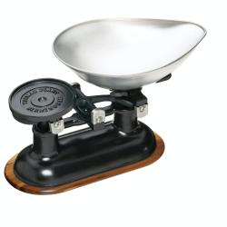 Natural Elements Mechanical kitchen scales, Black