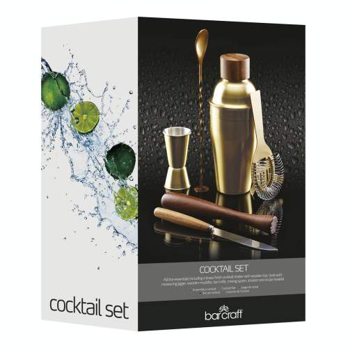 Six piece cocktail set