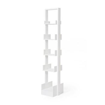 Bookcase, H15.50 x W31 x D32cm, white