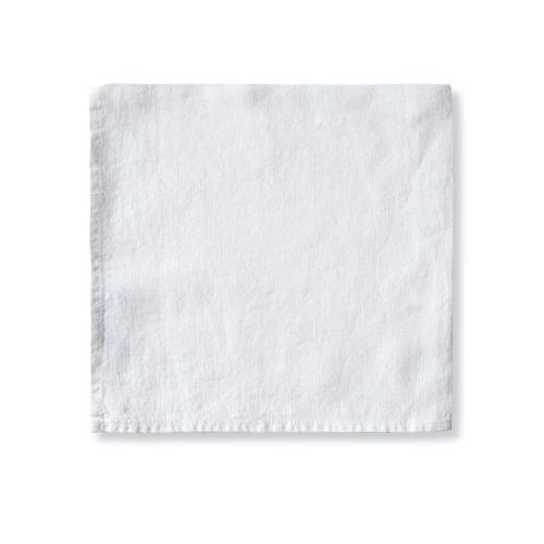 Simple Hem Napkin, 47 x 47cm, White