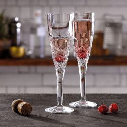 Highclere Set of 4 Champagne flutes