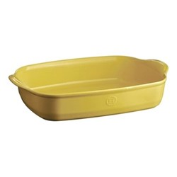 Provence Pair of large oven dishes, L43.5 x W31.5cm - 400cl, yellow