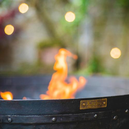 Recycled Firepit kit, Metallic