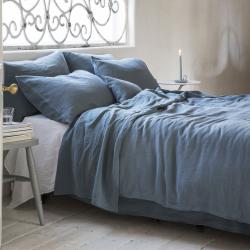 King size duvet cover, 225 x 220cm, Parisian Blue