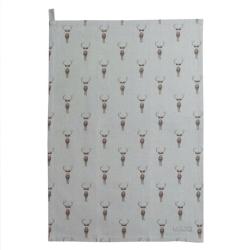 Highland Stag Tea towel, 45 x 65cm