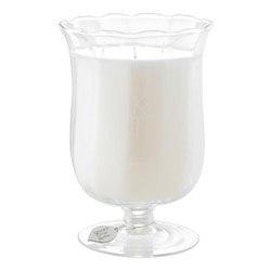 Midsummer Night Scented candle, H20 x D14cm, ivory