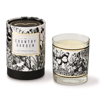Country Garden Luxury scented candle, H9.2 x Dia8.1cm