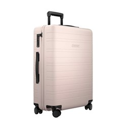 H6 Medium check-In trolley suitcase, W46 x H64 x D24cm, pale rose