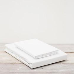 Vika King size flat sheet, 150 x 200 x 36cm, white