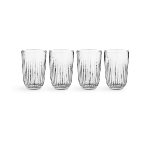 Hammershoi Set of 4 tumblers, 330ml, Clear