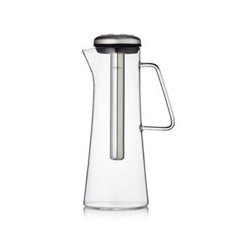 Glass ice bar coffee jug, electric steel