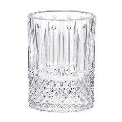 Tommy Small oval vase, clear crystal