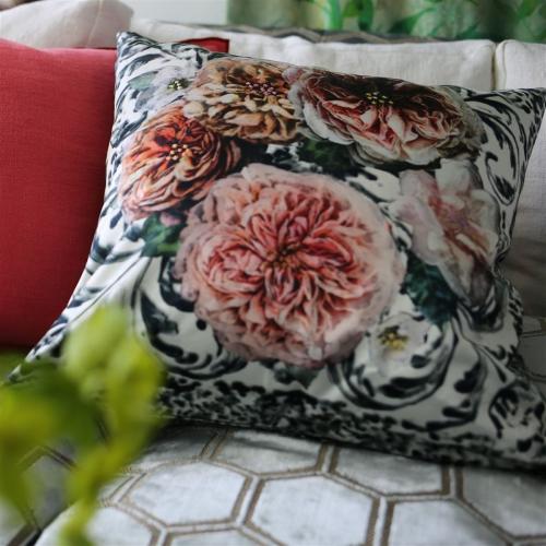 Pahari Cushion, H55 x W55cm, Tuberose