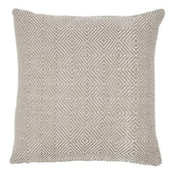 Diamond Cushion, L45 x W45cm, chinchilla