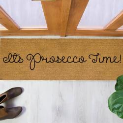 Prosecco Time Patio Doormat, 120 x 40cm