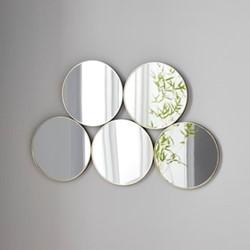Mirror, L60 x W1.5 x D38cm, gold