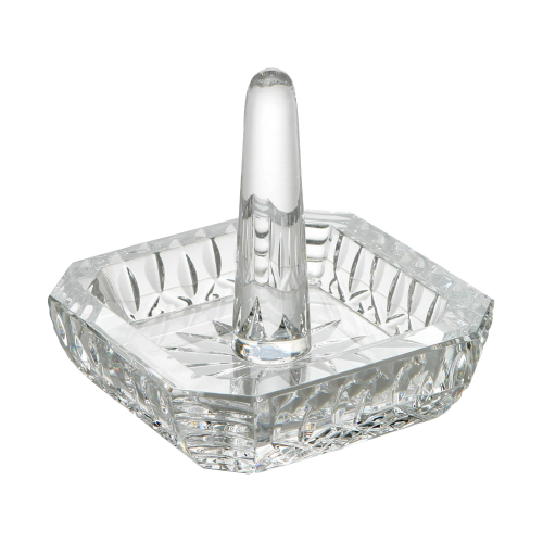 Lismore Classic Square ringholder, clear