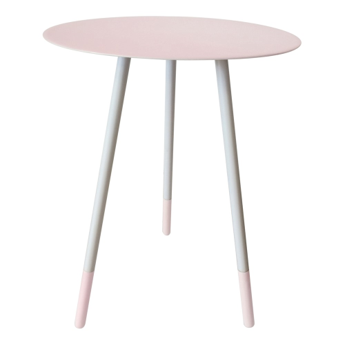 Small round table, H49cm x Dia36cm, Pink