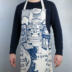 Scottish Breakfast Apron, 61 x 85cm