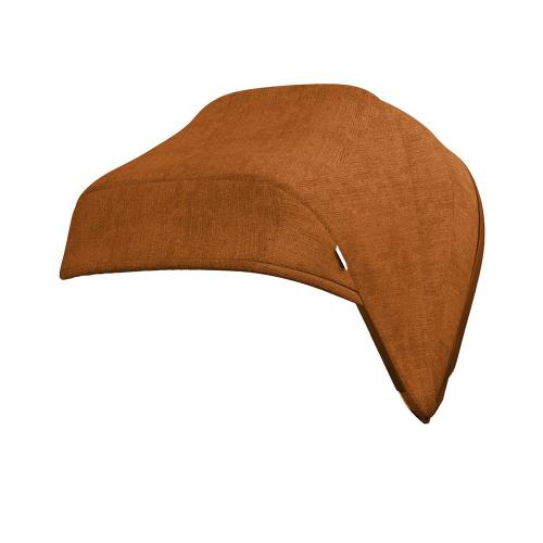 J-carbon Hood & harness pads, Bombay rust, Orange