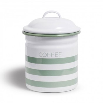 Hempton Coffee canister, 10.8 x 15.25cm