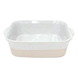 Fattoria Square baker, L26 x W24 x H7cm, white