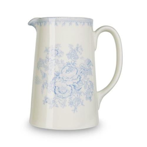 Asiatic Pheasants Tankard jug large, 1.1 litre - 2pt, Blue