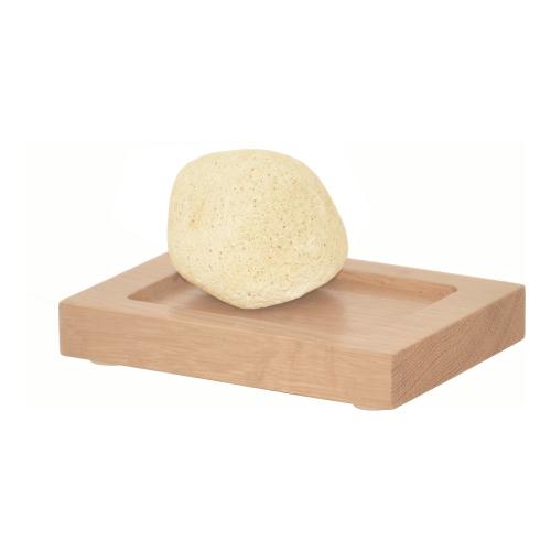 Mezza Soap dish, H2 x W13 x D9.5cm, Oak