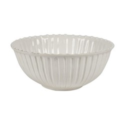 Lamorran Large serving bowl, D31.5 x H13.5cm, white