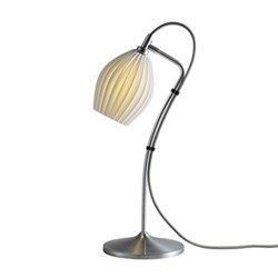 Fin Table light, H49 xW22cm, natural white