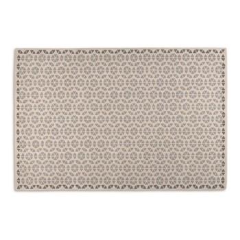 Trio Extra large wool rug, H200 x W300cm, tonal grey